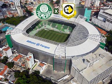 Palmeiras x São Bernardo - pré-jogo