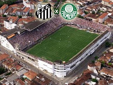 Pré-jogo Santos x Palmeiras