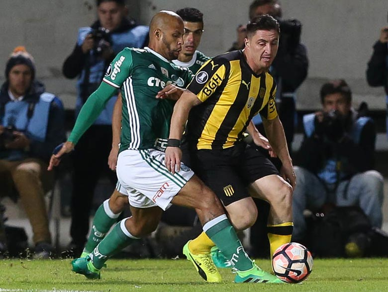 Peñarol 2x3 Palmeiras