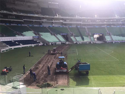 WTorre retira o gramado do Allianz Parque (25/3/17)