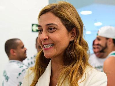 Leila Pereira em campanha