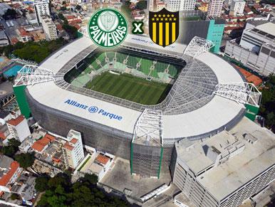 Pré-jogo Palmeiras x Peñarol