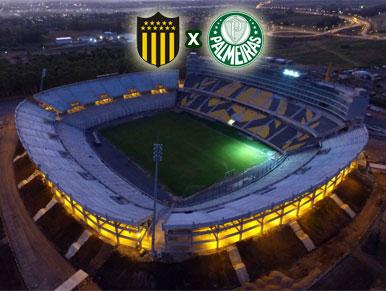 Pré-jogo Peñarol x Palmeiras