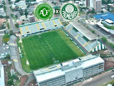Pré-jogo Chapecoense x Palmeiras