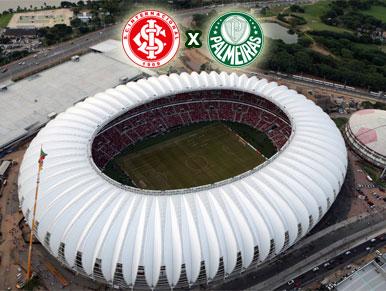 Pré-jogo Internacional x Palmeiras