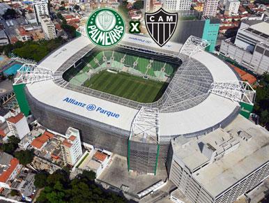 Pré-jogo Palmeiras x Atlético-MG