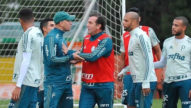 Discussão no rachão do Palmeiras alimenta o jornalismo-fofoca