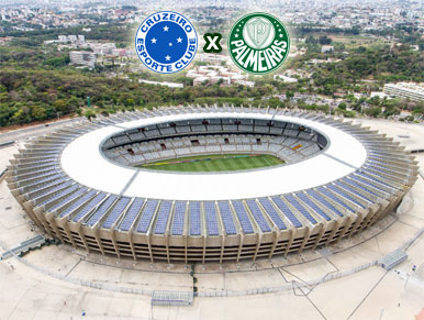 Pré-jogo Cruzeiro x Palmeiras