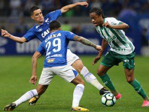 Keno contra o Cruzeiro