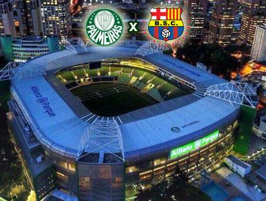 Pré-jogo Palmeiras x Barcelona