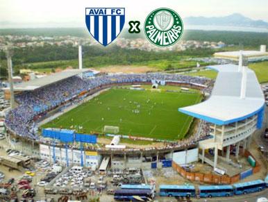 Pré-jogo Avaí x Palmeiras