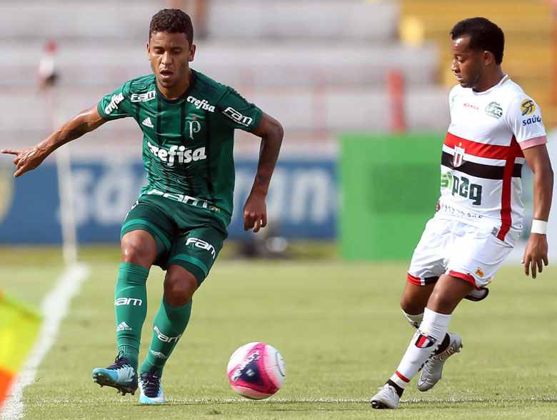 Botafogo-SP 0x1 Palmeiras
