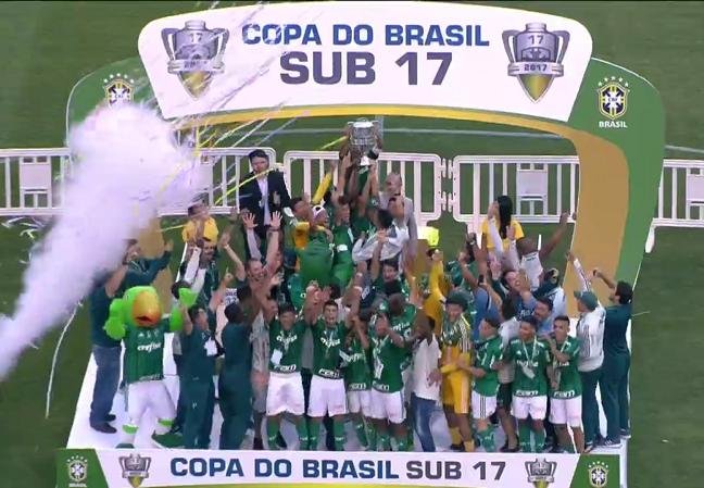 Sub-17 Campeão da Copa do Brasil