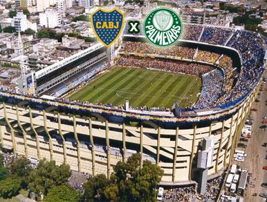 Pré-jogo Boca Juniors x Palmeiras