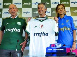 Palmeiras e Crefisa anunciam contrato de patrocínio