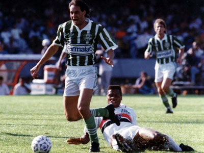 Evair na final do Campeonato Paulista de 1992