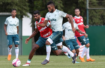 Borja e Thiago Santos