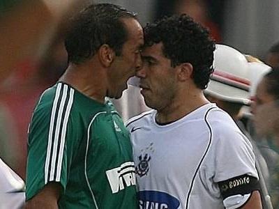 Derby: Edmundo x Tevez