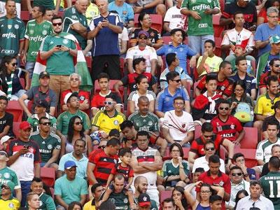 Flamengo x Palmeiras, em Brasília