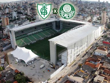 Pré-jogo: América-MG x Palmeiras