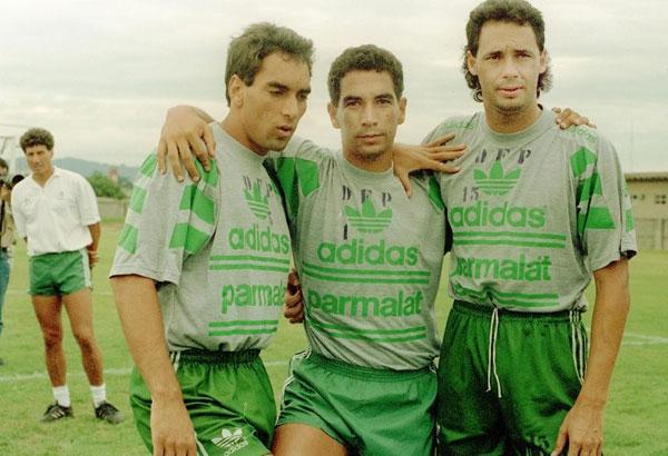Edmundo, Zinho e Evair