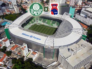 Pré-jogo Palmeiras x Paraná