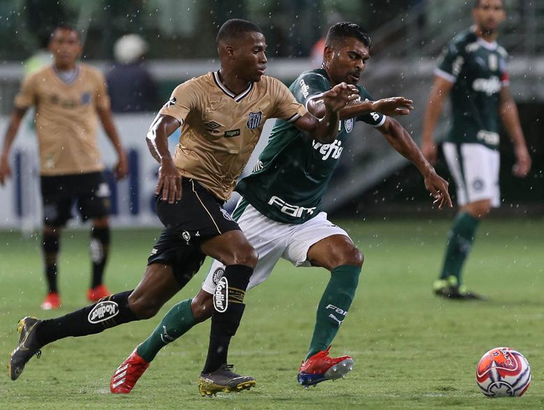 Palmeiras 0x0 Santos
