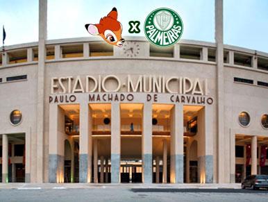 Pré-jogo SPFC x Palmeiras