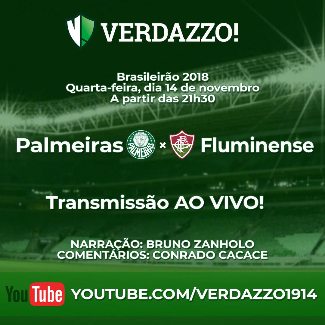 Palmeiras x Fluminense - ao vivo!