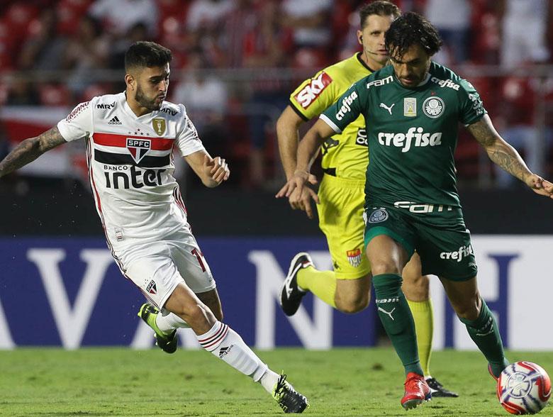 SPFC 0x0 Palmeiras