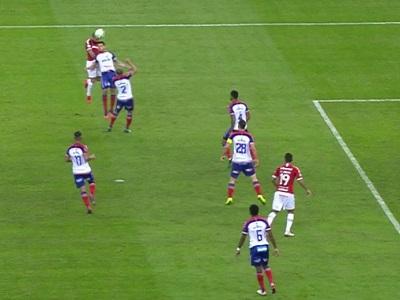 Gol irregular de Rodrigo Lindoso