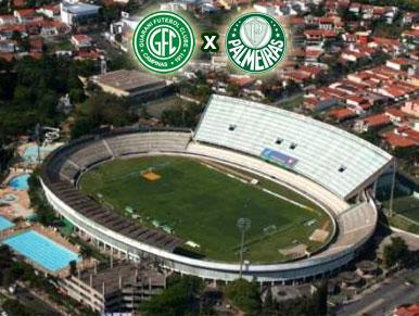 Pré-jogo Guarani x Palmeiras