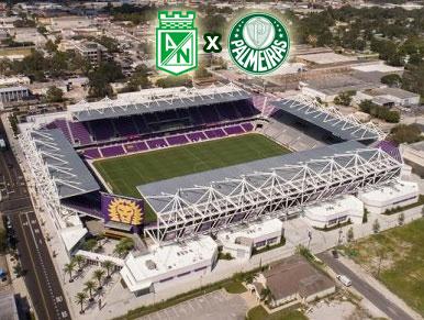 Pré-jogo Atlético Nacional x Palmeiras