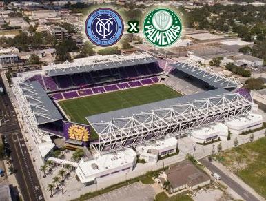 Pré-jogo New York City FC x Palmeiras