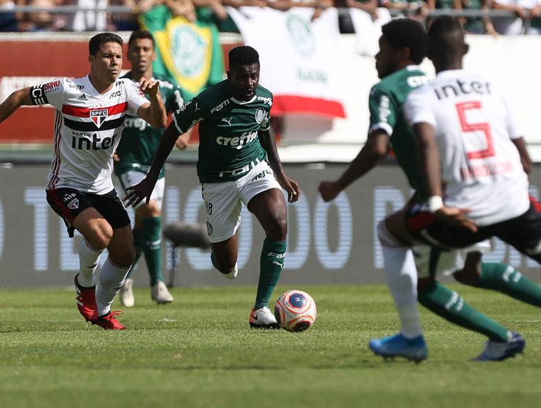 Palmeiras 0x0 SPFC