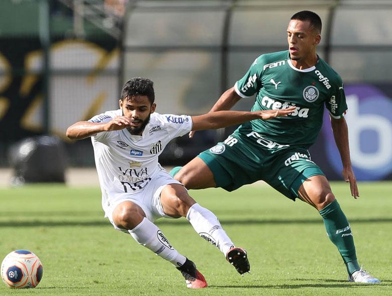 Santos 0x0 Palmeiras