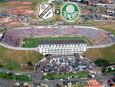 Pré-jogo Inter de Limeira x Palmeiras