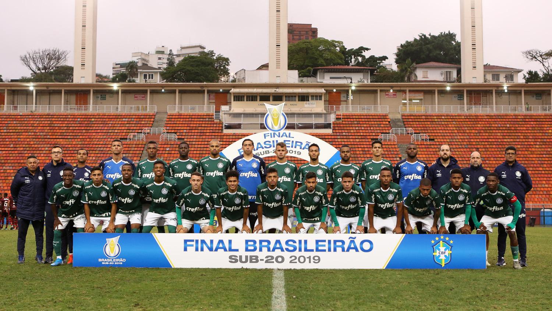 Palmeiras 1x0 Flamengo - Campeonato Brasileiro Sub-20 (jogo de ida)