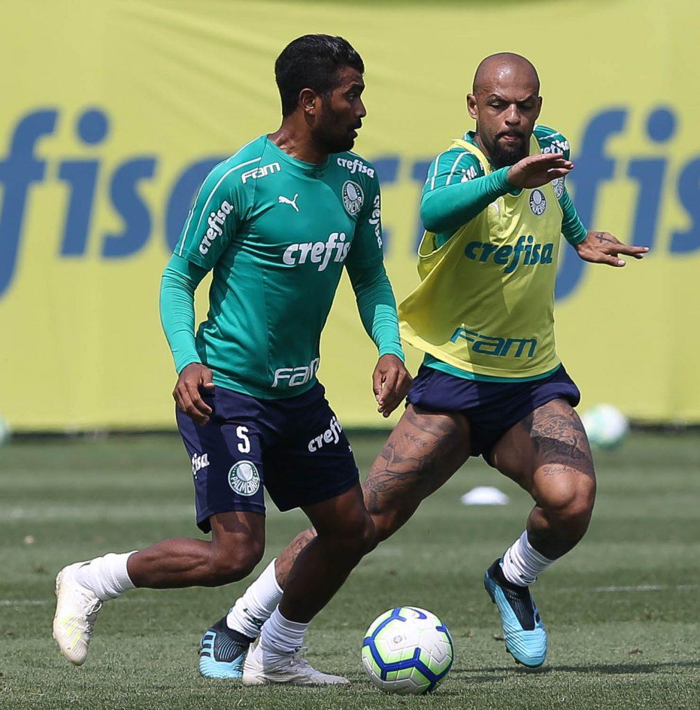 Thiago Santos e Felipe Melo