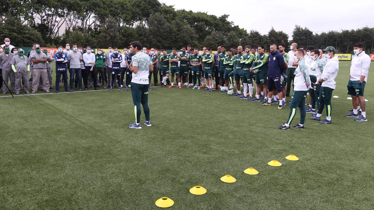 Abel Ferreira apresenta-se no Palmeiras