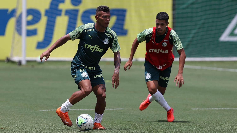 Gabriel Veron e Caio Cunha