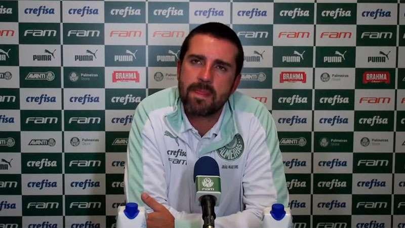 João Martins concede entrevista coletiva