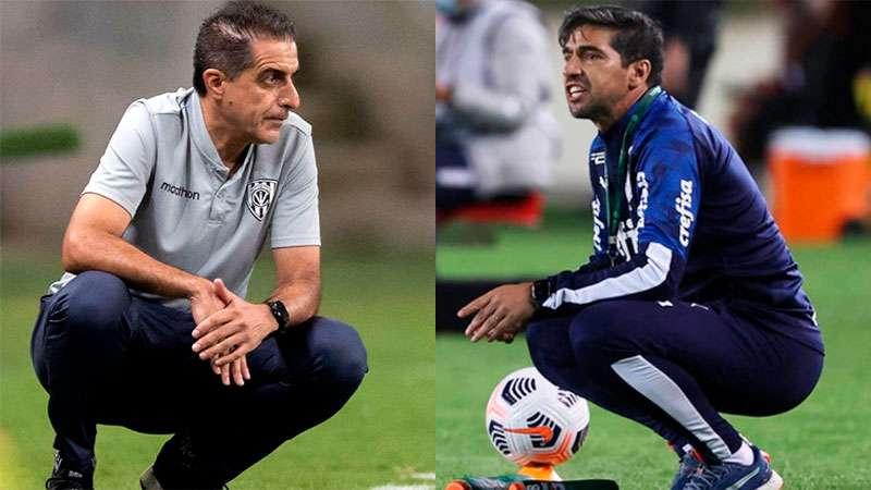 Renato Paiva e Abel Ferreira