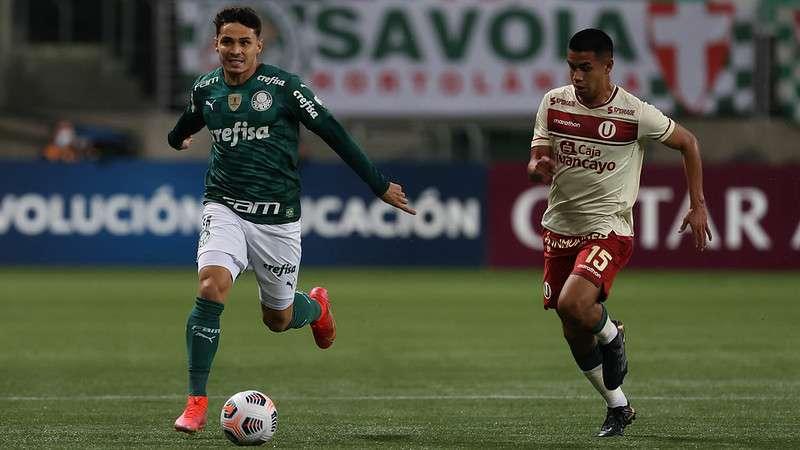 Palmeiras 6x0 Universitário no Allianz Parque