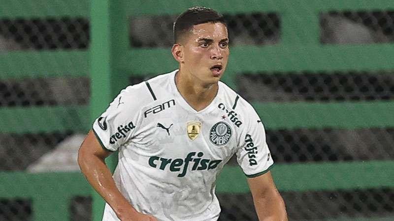 Renan, do PAlmeiras, em partida contra o Defensa Y Justicia