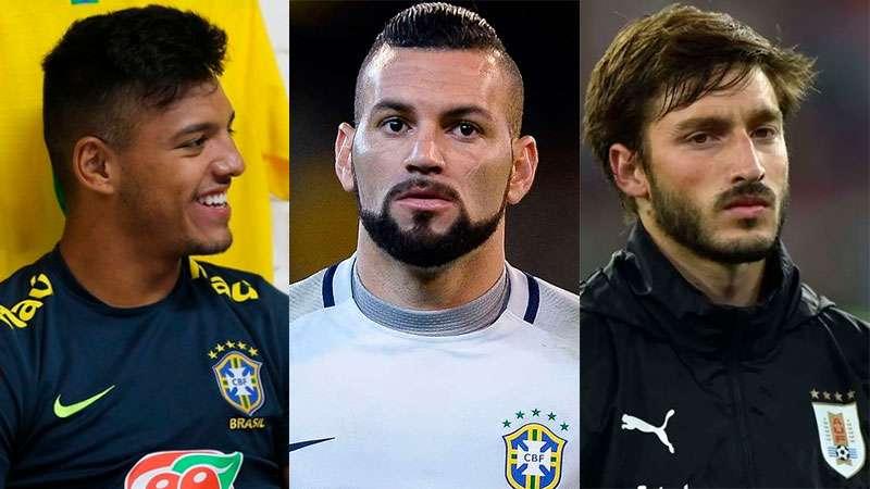 Gabriel Menino, Weverton e Viña foram convocados para suas seleções e desfalcam o Palmeiras