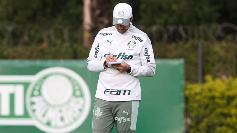 Calendário das próximas semanas será menos sacrificante para o time de Abel Ferreira