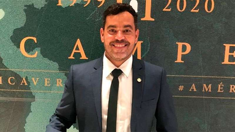 João Paulo Sampaio, coordenador da base do Palmeiras