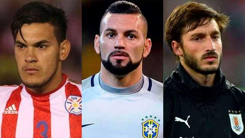 Trio de convocados do Palmeiras para a Copa América: Gustavo Gómez, Weverton e Viña