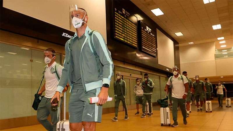 Delegação do Palmeiras viajará ao Paraguai para receber primeira dose da vacina contra a Covid-19